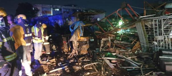 Gas Explosion at Ajao Estate, Lagos
