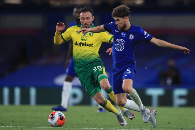 Premier League clash between Chelsea and Norwich City [PHOTO CREDIT: @ChelseaFC]