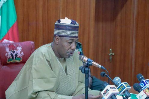 Governor of Borno State, Babagana Zulum [PHOTO: @GovBorno]