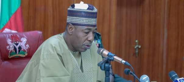 Governor of Borno State, Babagana Zulum [PHOTO: @GovBorno]