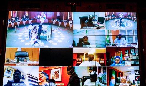 Buhari presides over virtual Federal Executive Council meeting