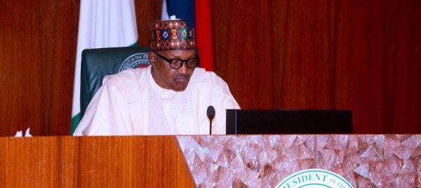 President Muhammadu Buhari of Nigeria.