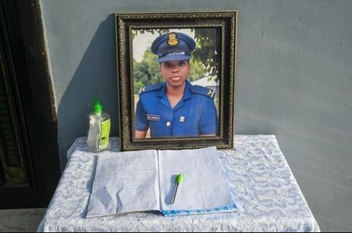 Nigeria's first female helicopter pilot, Flying Officer Tolulope Arotile (1995-2020). (PHOTO CREDIT: NAF)