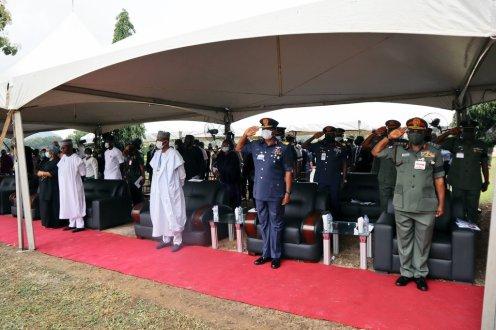 Tolulope Arotile's Funeral (PHOTO CREDIT: @CDS_Nig)