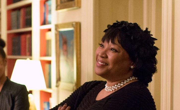 Zindzi Mandela in 2013. [PHOTO CREDIT: Pete Souza/White House]