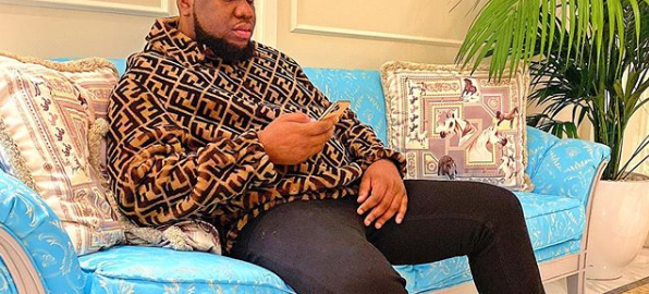 "RAMON OLORUNWA ABBAS, aka ""Ray Hushpuppi,"" [PHOTO CREDIT: Official Instagram account of Hushpuppi]"
