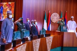 First ever virtual Council of State meeting presided over by President Muhammadu Buhari