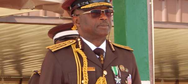Comptroller General of the Nigerian Immigration, Muhammad Babandede. [PHOTO CREDIT: @nigimmigration]