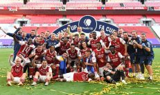 Arsenal wins the 2020 Emirate FA Cup [PHOTO CREDIT: @Arsenal]