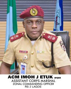 Imoh Etuk, Zonal Commanding Officer