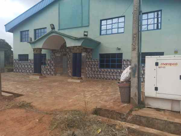 The entrance of Omoyele Academy in Sagamu PHOTO CREDITS: Premium Times - Alfred Olufemi