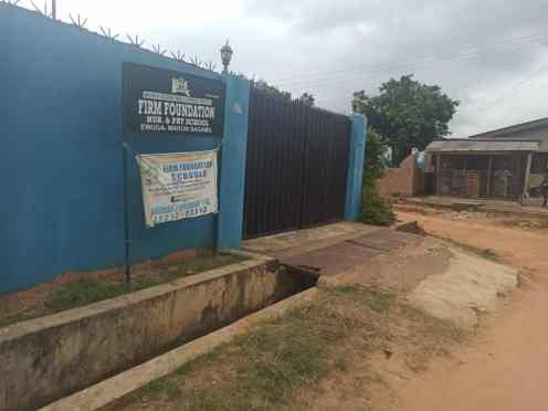 Firm Foundation, Sagamu closed PHOTO CREDITS: Premium Times - Alfred Olufemi