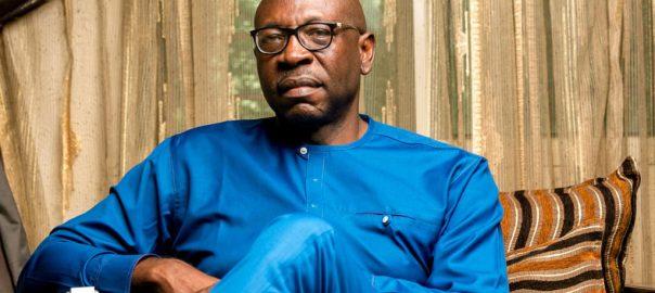 The governorship candidate of All Progressives Congress (APC) in Edo State, Osagie Ize-Iyamu. [PHOTO CREDIT: Official Twitter handle of Ize-Iyamu || @PastorIzeIyamu]