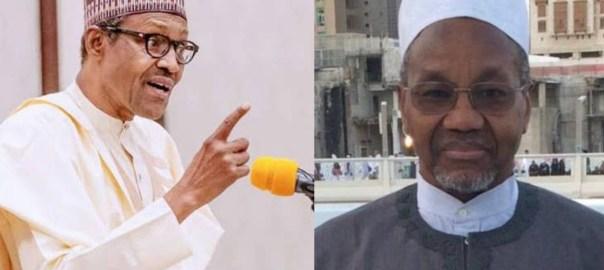President Muhammadu Buhari and nephew, Mamman Daura