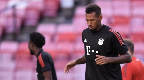 Jerome Boateng. [PHOTO CREDIT: Official Twitter handle of Boateng]