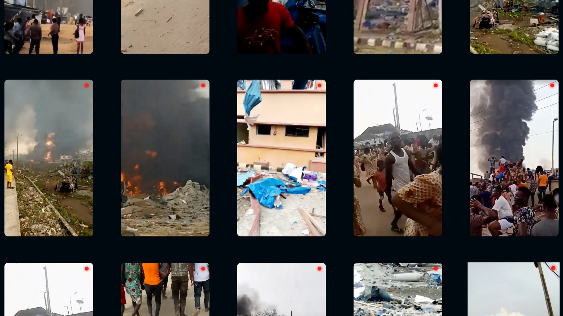 Africa eye-collage of Videos