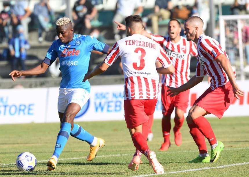 Osimhen scores another hat trick for Napoli