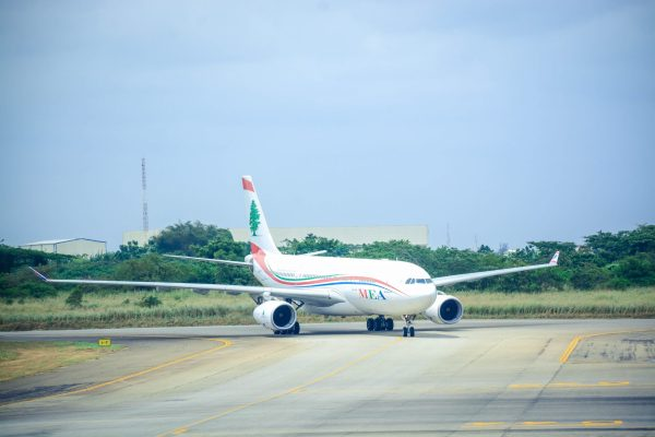 The Middle East Airline at Murtala Muhammed International Airport, Lagos [PHOTO CREDIT: @FAAN_Official]