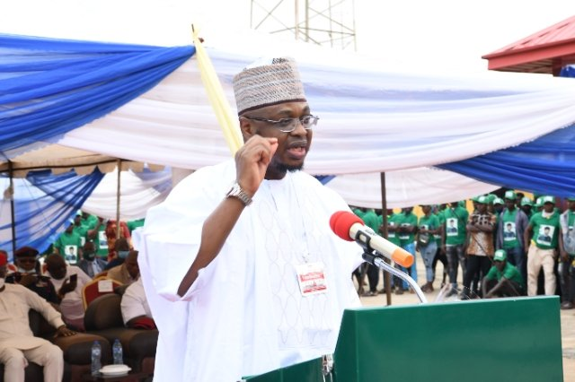 Official commissioning of the Nigerian Communications Commission (NCC)'s Emergency  Communications Centre (ECC) by the Hon. Minister of Communications and Digital Economy, Dr. Isa Ali Ibrahim Pantami in Imo State.  [PHOTO CREDIT: @NgComCommission]