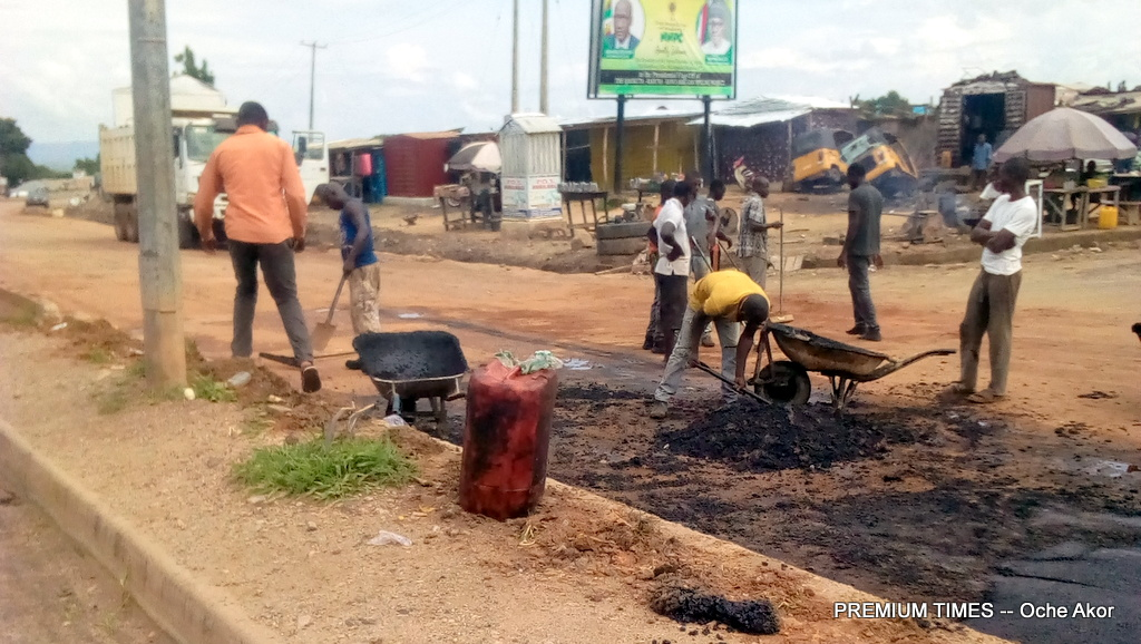 KOGROMA carrying out Maintenance in the Lokoja