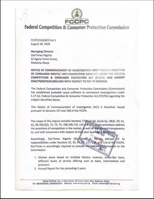 FCCPC Document