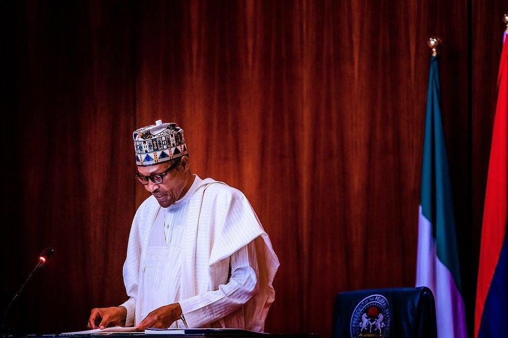 President Muhammadu Buhari inaugurates steering committee of Nigeria's new development plan, Agenda 2050. [PHOTO CREDIT: @ProfOsinbajo]