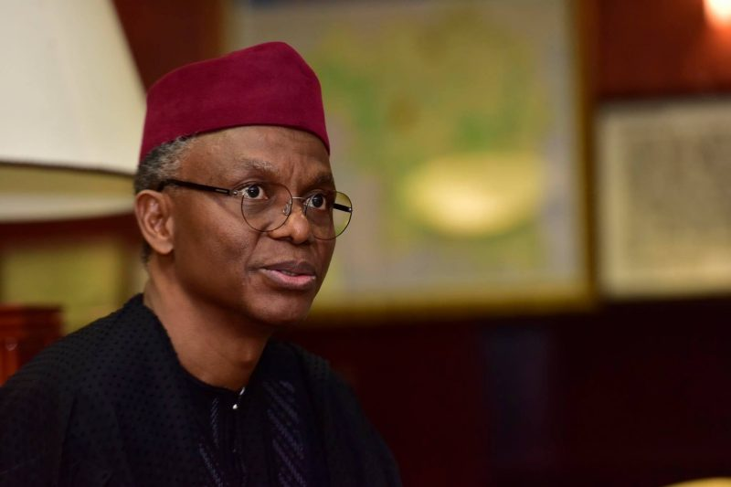 Governor of Kaduna State, Mallam Nasir El-Rufai [PHOTO CREDIT: Nasir El-Rufai on Facebook]