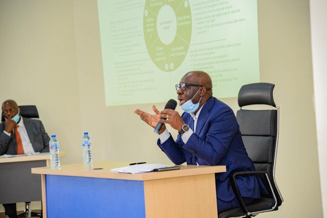 The Edo State governor, Godwin Obaseki [PHOTO CREDIT: Godwin Obaseki on Facebook]