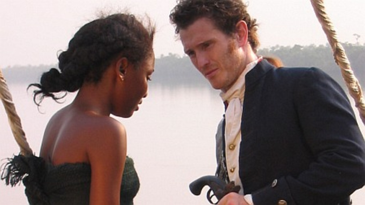 A scene from Amazing Grace