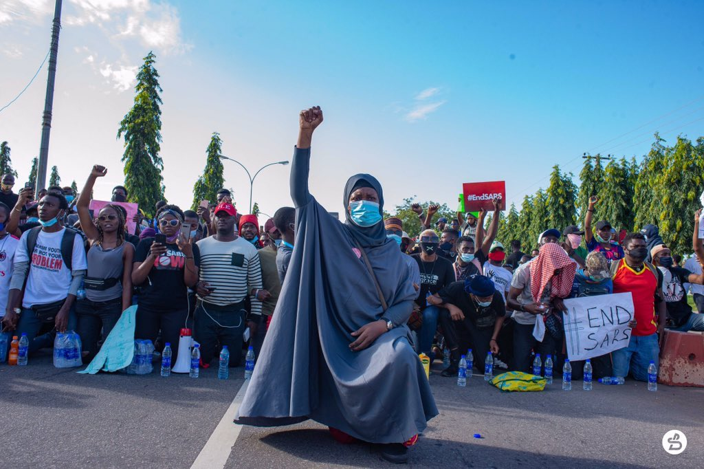 """""""We must press on with no mistake of relaxing"""" – US based Nigerian record label, Blackcity entertainment joins #Endsars Protests"""