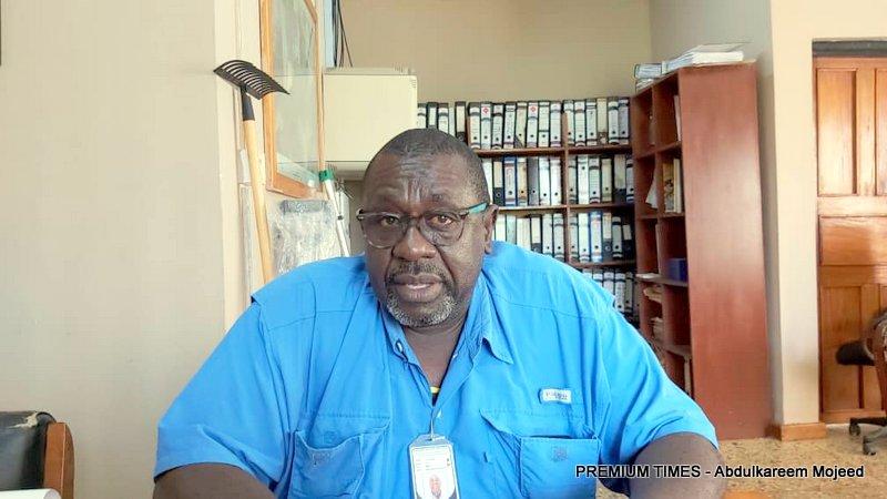 Billy Ghansah, Agriculture coordinator at Okomu Oil company