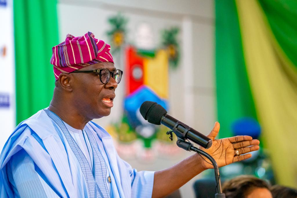 Lagos State Governor, Babajide Sanwo-Olu [PHOTO CREDIT: @jidesanwoolu]