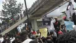 EndSARS protes in Benin