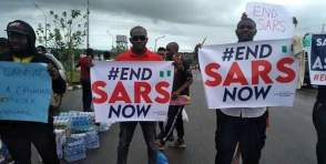 #ENDSARS Youth protest in Anambra