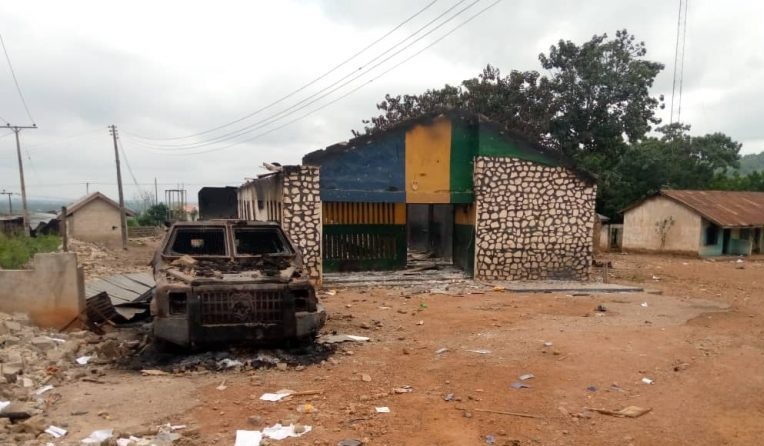 Gunmen raze another police station in Nigeria's South-east