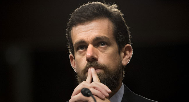 The Chief Executive Officer of Twitter, Jack Dorsey. [CREDIT: Twitter]