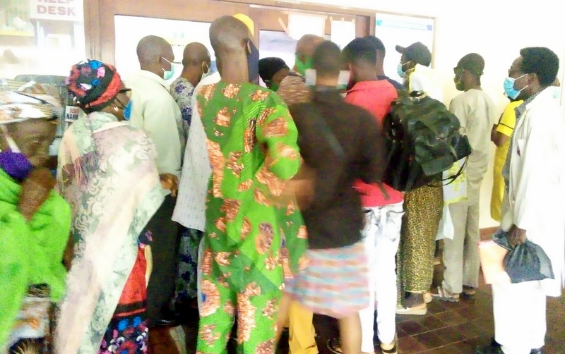 Patients struggling to gain entry into UCH eye clinic
