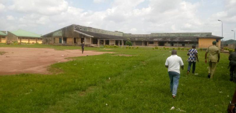 Inside the Oko Prison in Benin