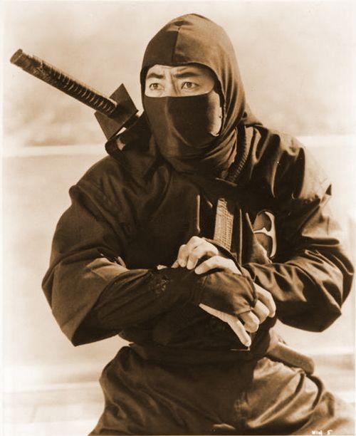 Sho Kosugi, movie star and renown Ninja enthusiast popularised Ninjutsu in the 1980's