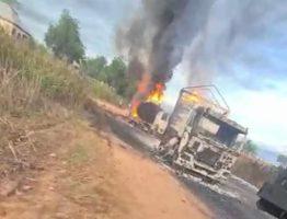 tanker explosion in Niger