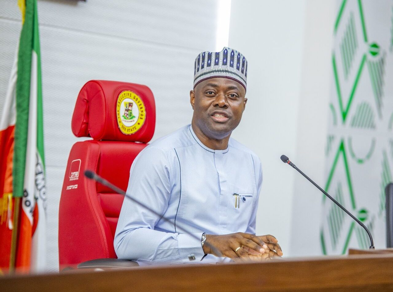 Governor, Seyi Makinde of Oyo State [PHOTO CREDIT: Seyi Makinde on LinkedIn]