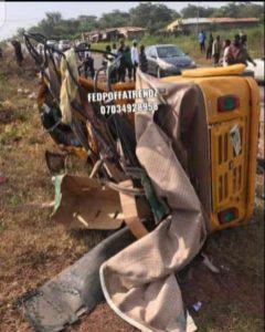 Offa Poly accident scene