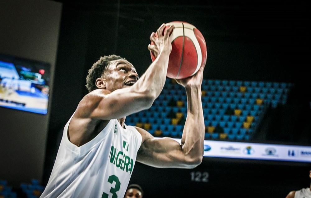 Caleb Agada led the team with 16 points - Courtesy FIBA