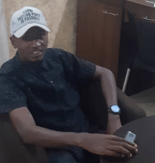 Ismail Abdullah, 21-year old Fulani peace activist. [Credit Taiwo-Hassan Adebayo]