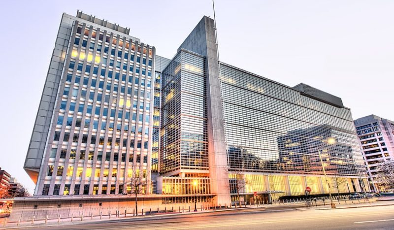 World Atlas [Photo Credit: World Bank headquarters]