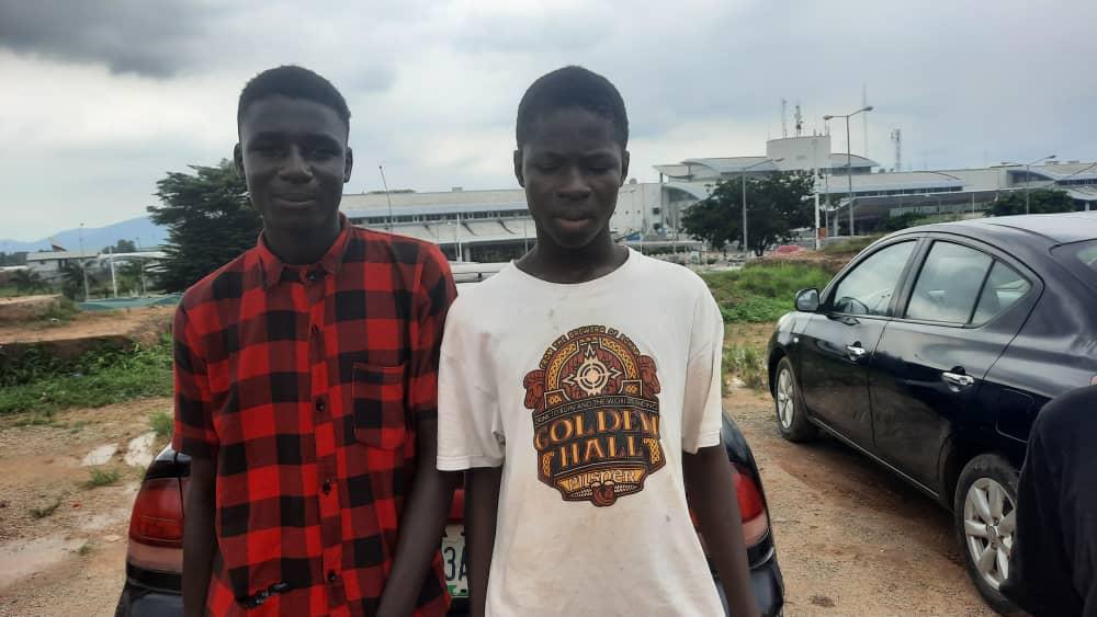 Abba Abubakar and Ibrahim Abubakar