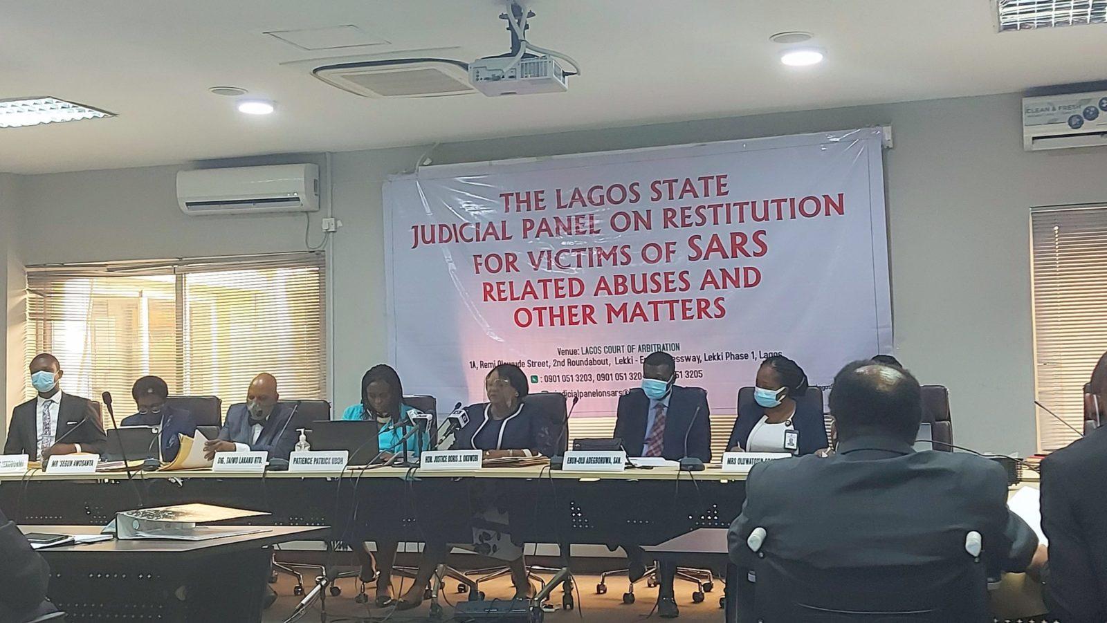 Lagos State Judicial Panel on #EndSARS.