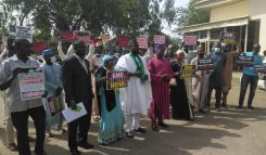 Northern groups protest abduction of students in Katsina