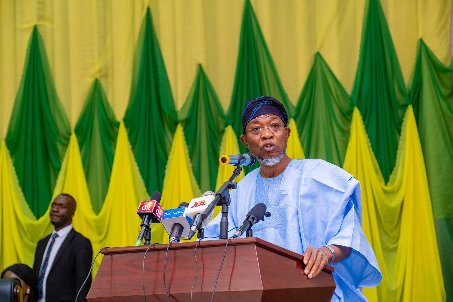 Aregbesola raises concerns about 'fair-weather' people joining APC