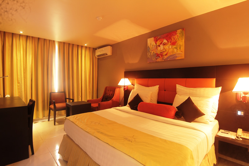 A room at Oakspring Hotel  Luxury Suites, Lagos
